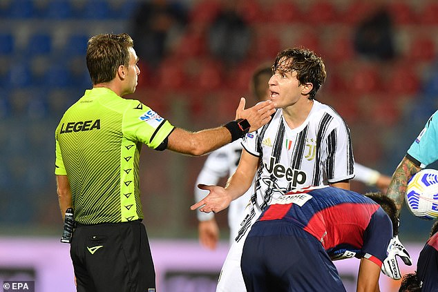 Pirlo believes players like Federico Chiesa would benefit from more experience