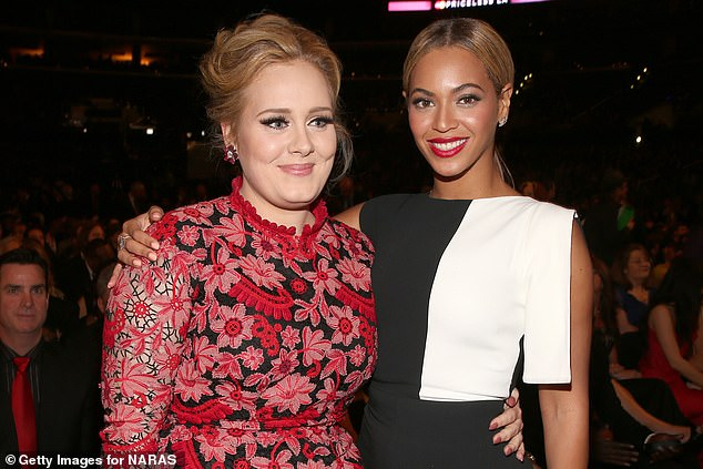 Fame: While Mark leads a humble lifestyle in Wales, his daughter has amassed millions of fans, and also boasts a number of celebrity pals, including Beyoncé (pictured in 2013)