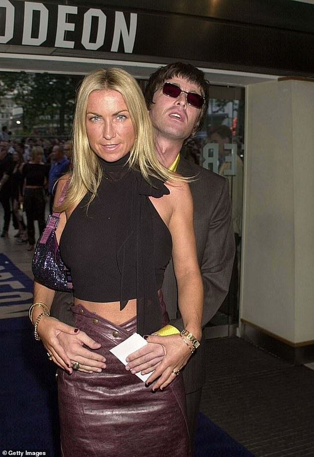 Carefree: The Britpop star said she went off the rails during her four-year marriage to Noel Galagher