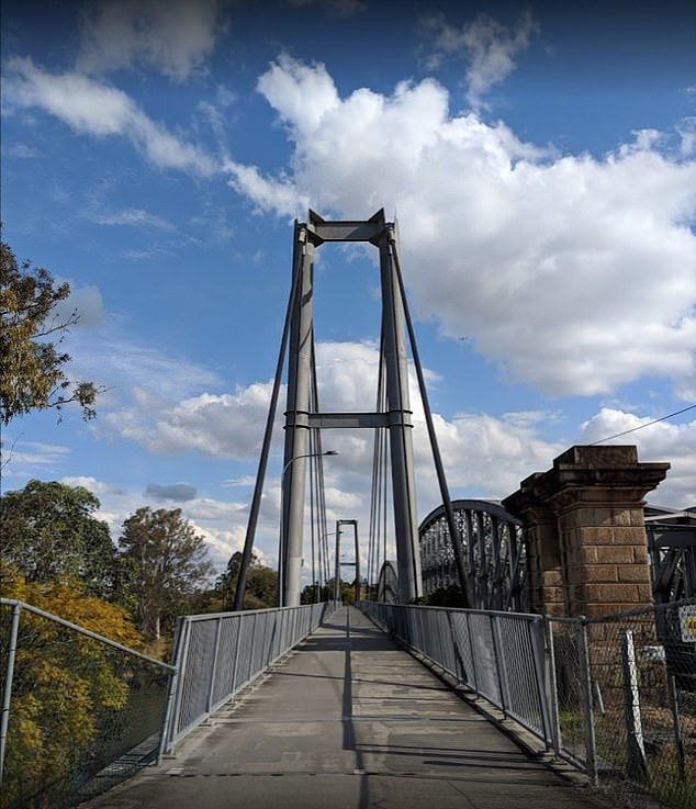 Mr DeVries has called for a 10km/h speed limit to be enforced onJack Pesch Bridge (pictured)