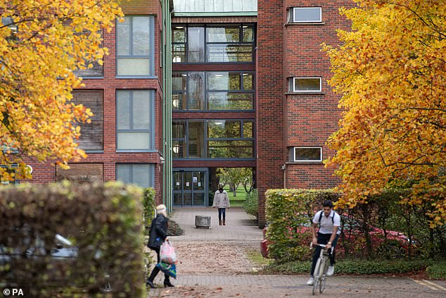 Students living at the West House accommodation are in isolation after a Covid-19 outbreak