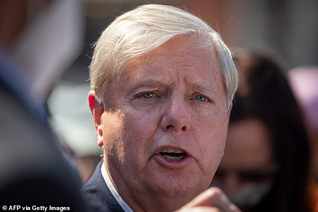 Senator Lindsey Graham broke with some GOP colleagues when claiming Americans need another COVID relief bill – but slammed the Democrat package for 'rewarding illegal immigrants' and 'changing election laws'
