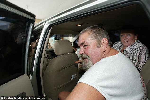 Tragic:The convicted drug smuggler explained her father Michael's death in January 2008 triggered years of psychosis. Michael is pictured in 2005