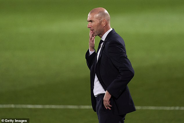 Real Madrid's board are reportedly questioning Zinedine Zidane's judgment of his players