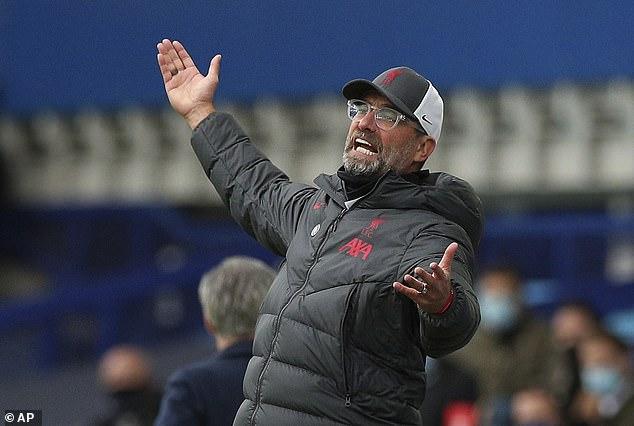 Liverpool boss Jurgen Klopp admitted he was not in a good mood following van Dijk's injury
