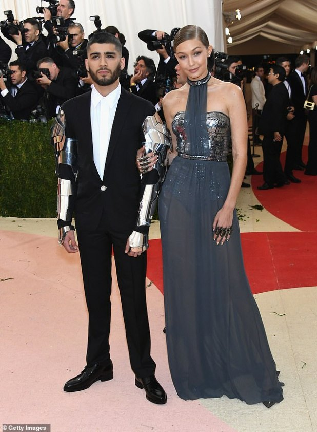 Power Couple: The on-off pair attended the 2016 Met Gala together