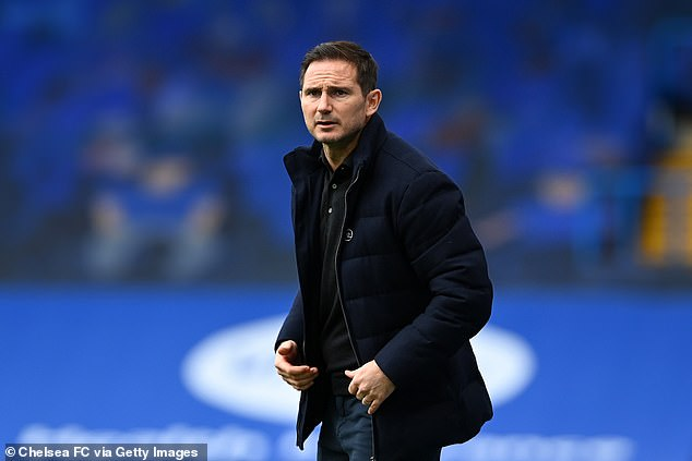 Les Bleus have dropped 20 points from winning positions since Lampard (above) took over