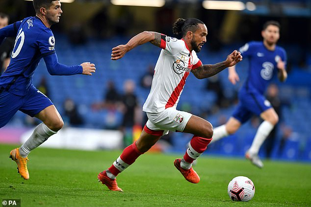 Theo Walcott (right) impressed on second Southampton debut after move on deadline