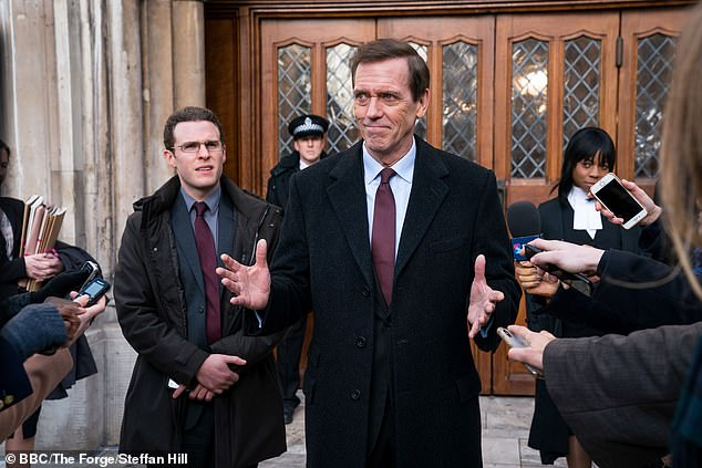 With any actor less likeable than Hugh Laurie, this story would be unbearably cynical, writes Christopher Stevens as he reviews the pilot episode of the BBC's political drama Roadkill