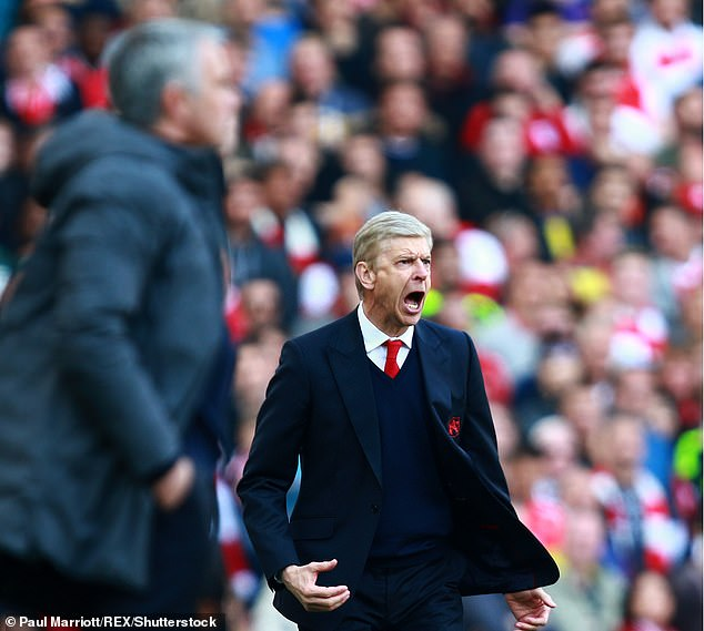 Wenger has actually beaten Mourinho twice in their rivalry - once at Chelsea both at Man United