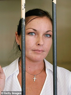 How you've changed! In August last year, Schapelle looked very different during an interview on Sunrise compared to her days locked up in Bali's Kerobokan Prison (pictured in 2006)