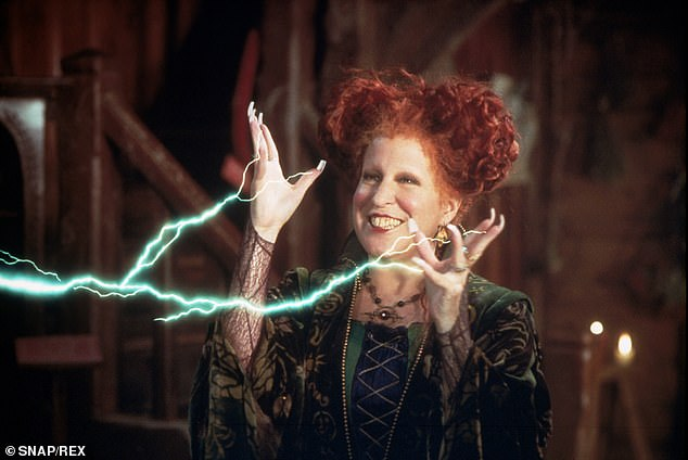 For a good cause: 'In Search of the Sanderson Sisters: A Hocus Pocus Hulaween Takeover will be an hour-long virtual show hosted by Elvira, Mistress of the Dark