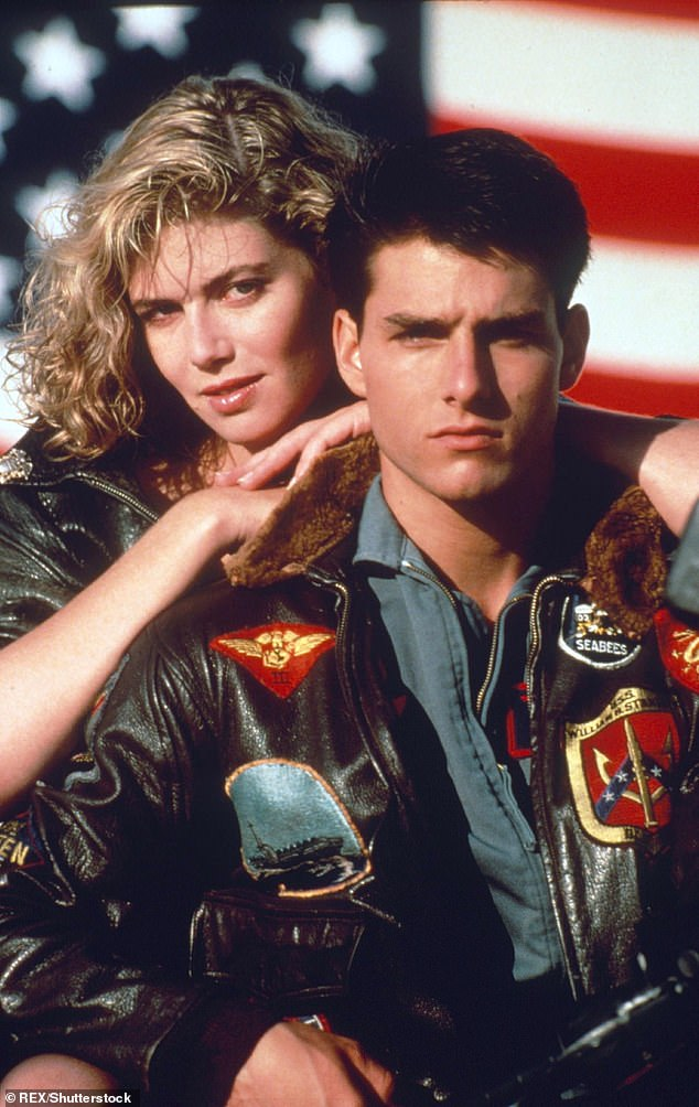 Iconic: Items going under the hammer include Tom Cruise's bomber jacket from the 1986 classic Top Gun