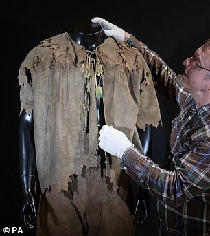 Family favourite: Robin Williams' outfit from Hook (1991) is going under the hammer