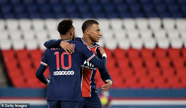 Kylian Mbappe and Neymar are keen to make amends after last season's final heartbreak