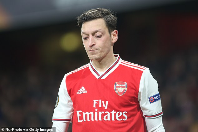 Ozil has had a miserable year at Arsenal and could be out of football by January