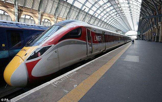 Figures from the Office of Rail and Road showed only 35 million journeys were made on the rail network between April and June, its lowest amount since the mid-nineteenth century