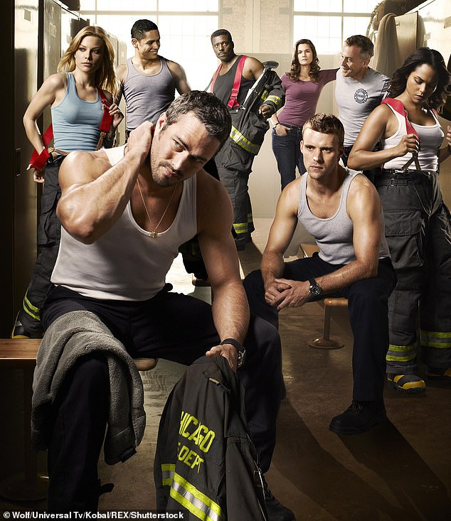 Leading Role: Jesse (left) currently stars in the action drama Chicago Fire