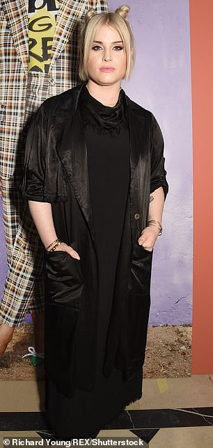 Therapy: Elsewhere during the chat, Kelly revealed that she had one year of therapy before committing to her gastric sleeve surgery (pictured in 2018)