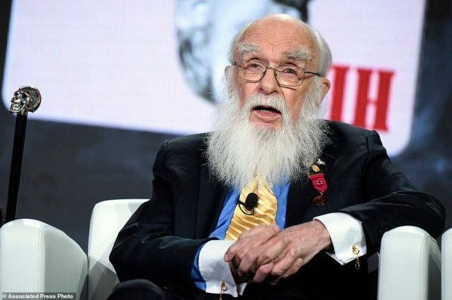 James Randi (pictured in January 2016), a magician who later challenged spoon benders, mind readers and faith healers with such voracity that he became regarded as the country's foremost skeptic, has died, his foundation announced. He was 92