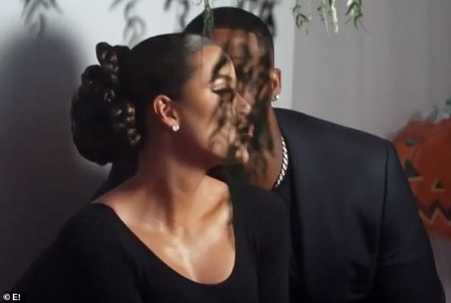 Khloe Kardashian gets a kiss from Tristan Thompson, Khloe Kardashian gets a kiss from Tristan Thompson as couple rekindle romance at Kim's 40th birthday, Premium News24