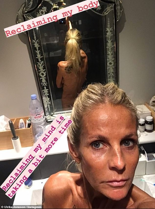 'My body, my rules': The star, who herself is no stranger to sharing her physique on Instagram, admitted even her daughter Bo sees social media as 'toxic'