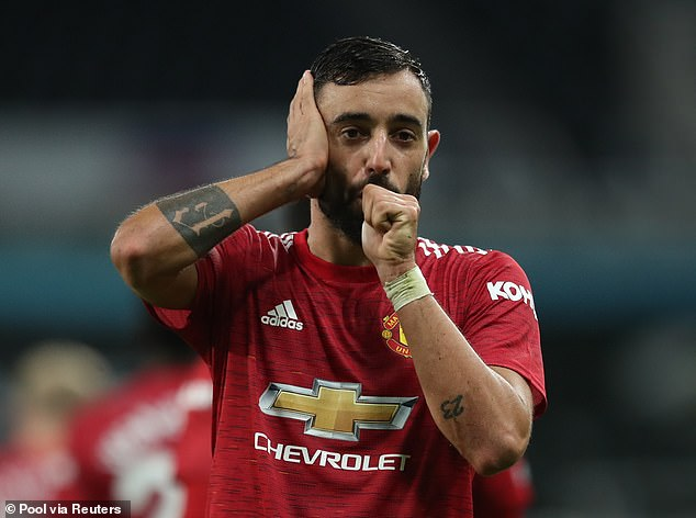 Bruno Fernandes made the cut, although he only signed for the club in January this year