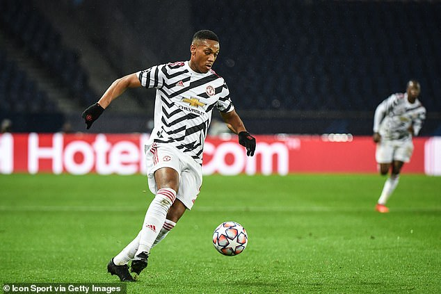 Anthony Martial is yet to score in nine appearances for club and country so far this season