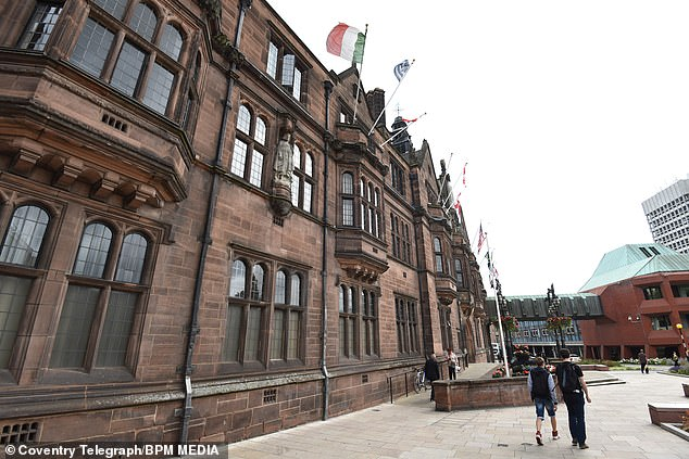 Coventry City Council (based at Council House in the city, pictured)assured parents that all necessary checks were carried out for the new student