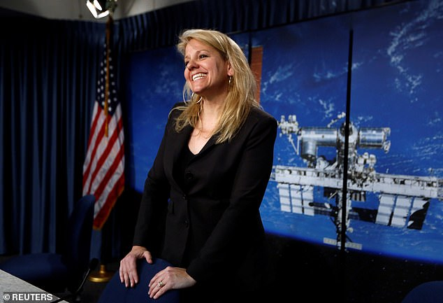 The company's president and COO Gwynee Shotwell (pictured) recently shared details with TIMEmagazine about bringing this technology to the Red Planet