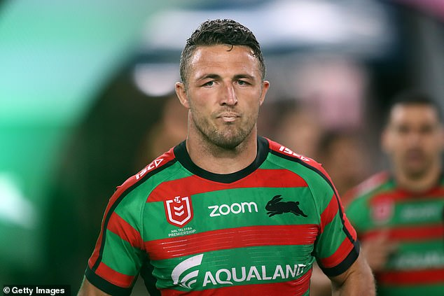 Headlines: Phoebe's inclusion after bomb allegations surfaced over the past few weeks of ex-husband Sam Burgess's personal life. Sam, 31, is pictured in September 2019