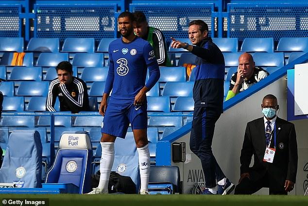 Ruben Loftus-Cheek has revealed he initiated talks with Frank Lampard about leaving on loan
