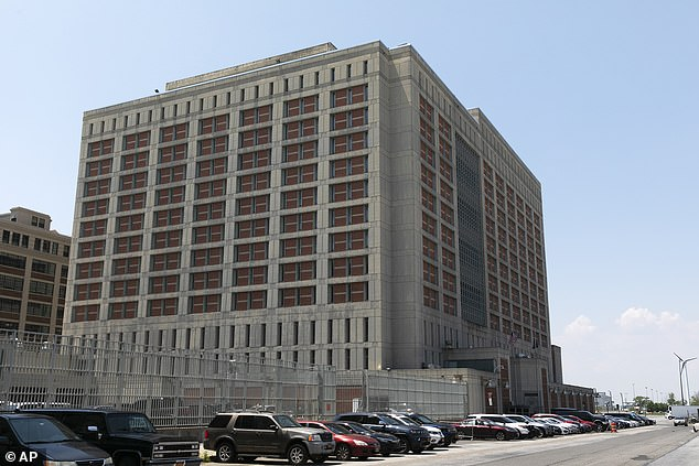 Pictured:The Metropolitan Detention Center in the Brooklyn borough of New York where Maxwell has been held since this summer