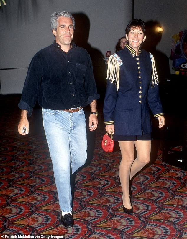 Jeffrey Epstein (left) died via suicide in August 2019 and Ghislaine Maxwell (right) managed to evade authorities for nearly a year