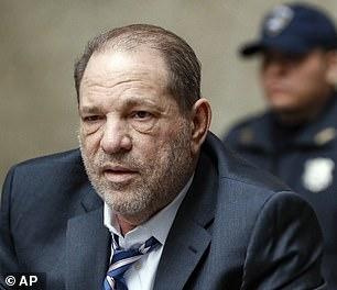 Pictured;Harvey Weinstein