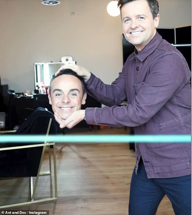 Missing body: Ant's body then disappeared and Dec just held onto his head before grabbing a soda and taking off