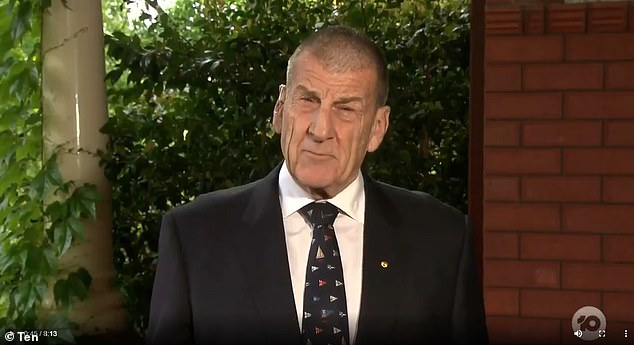 Former Victorian Prime Minister Jeff Kennett (Liberal, pictured) has pissed Prime Minister Daniel Andrews (Labor) off for his coronavirus handling, calling him