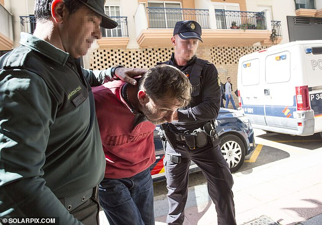 Geoffrey Elton, 56, was taken to court by Spanish police on the Costa Del Sol last year