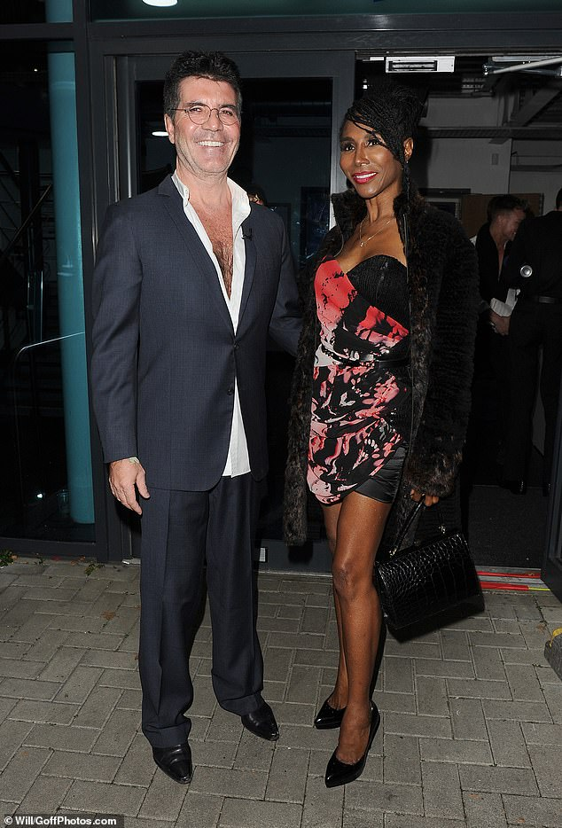 Goals: According to his close friend Sinitta (pictured together in 2019), the music mogul, 61, has resumed eating calcium and increased his protein intake in a bid to 'rebuild his strength'