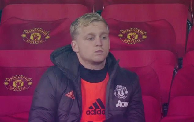 The midfielder watched from the bench as United played out a 0-0 draw with Chelsea at home