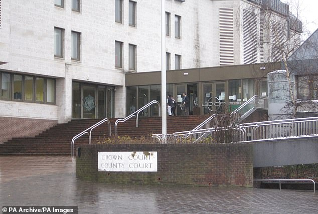 The ex-clinical trials manager with pharmaceutical firm Pfizer sobbed throughout her sentencing at Maidstone Crown Court (pictured)