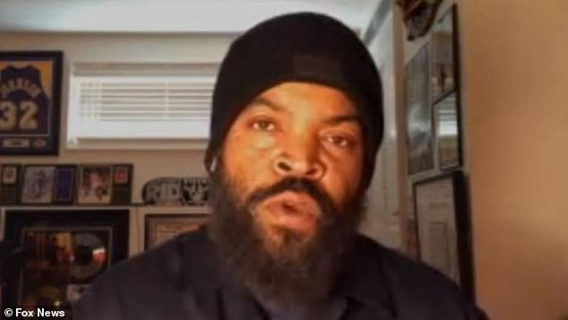 Ice Cube says he's 'not playing politics' by working with Trump on his 'Platinum Plan'