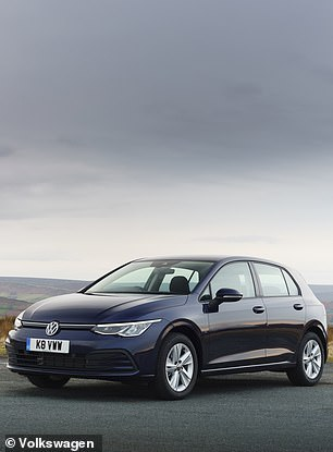 The entry level VW Golf currently costsfrom £20,280
