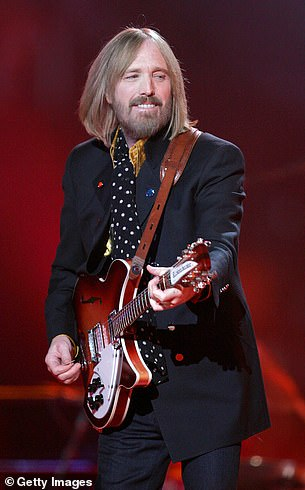 The family of Tom Petty (left), who passed away in 2017, called on the president's campaign to stop playing his hit I Won't Back Down at his rallies
