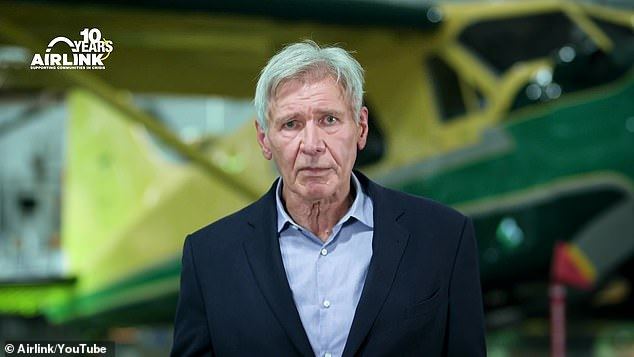 Worst celeb: Things took an infuriating turn as the topic of Oscar-nominee Harrison Ford was brought up. 'Okay, he would be a two!' David proclaimed without hesitation. He also revealed that he told Harrison 'he obviously didn't want to be here' and cut the interview short