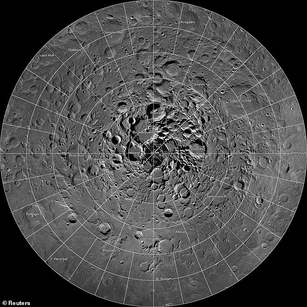 NASA has today announced that there is up to 15,000 square miles of frozen water on the moon