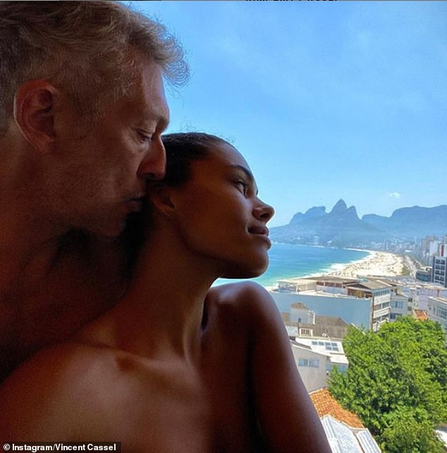 Just the two of us:Later in the day, the social media sensation and the Ocean's Twelve actor appeared to pose nude as they soaked up the sights of Ipanema