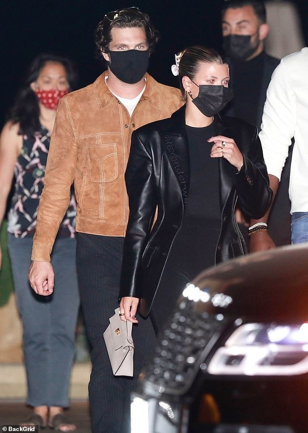 New flame? Two weeks ago, Sofia was seen hanging out on a celebrity hotspot Nobu with 27-year-old Cha Cha Matcha co-founder Matthew Morton.