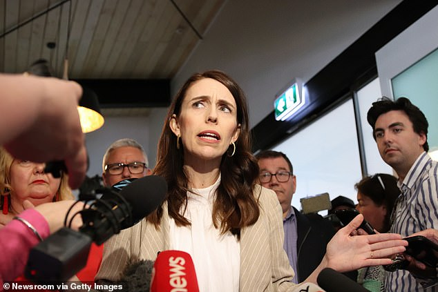 Ingraham claimed that the New Zealand government and Prime Minister Jacinda Ardern (pictured above) had