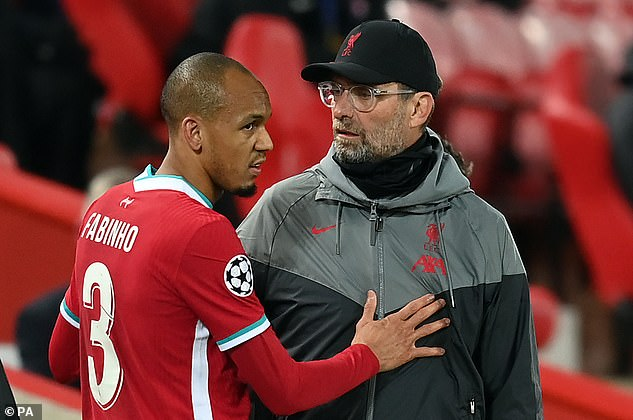 But the Brazilian shouldn't be a long-time absent much to Jurgen Klopp's relief